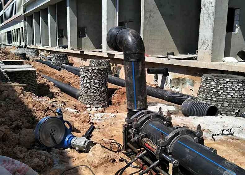 PE给水管在城镇给水管道工程中的ying用